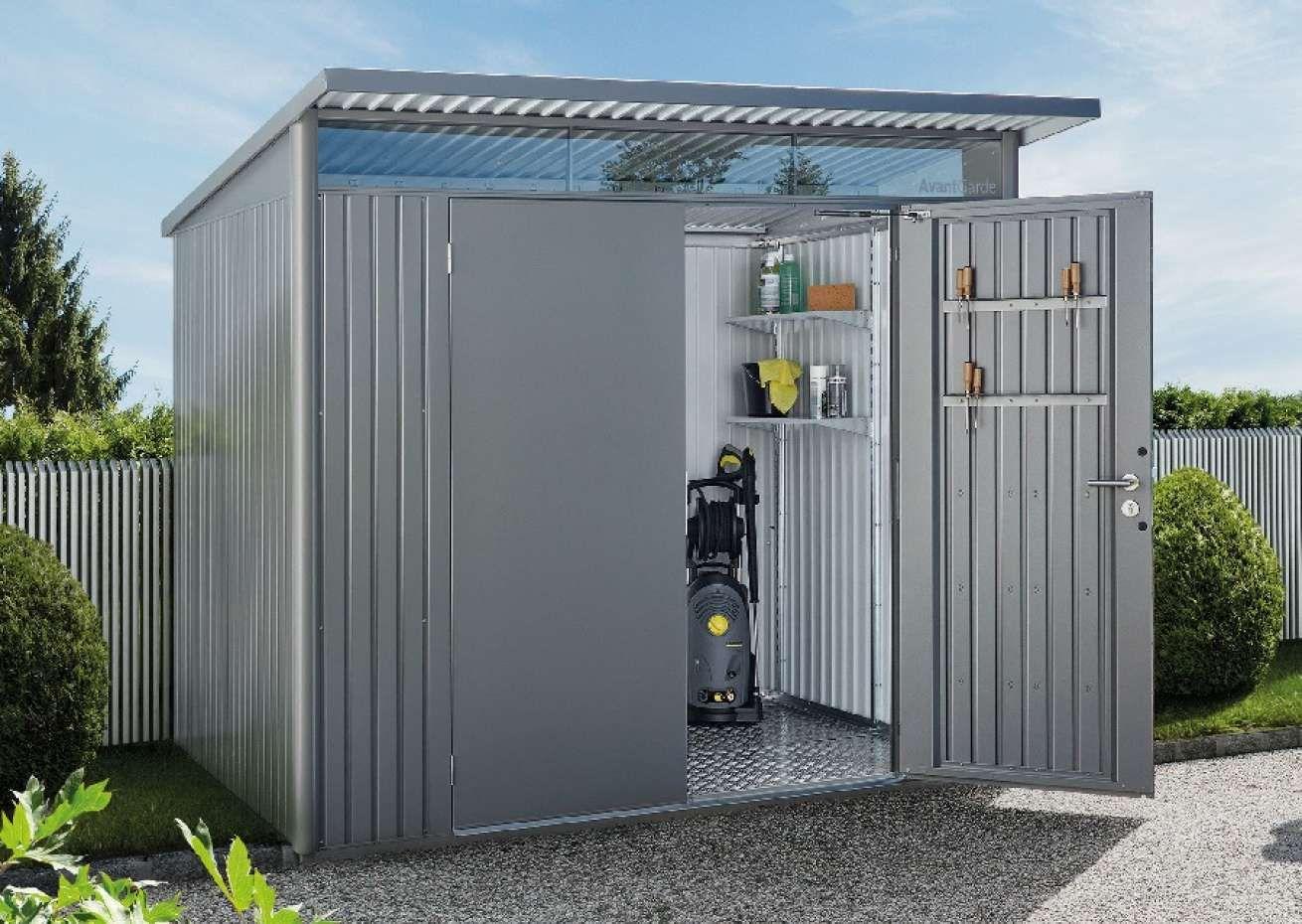 Biohort Geratehaus Avantgarde Gartenhaus Metall Gartenhaus Haus