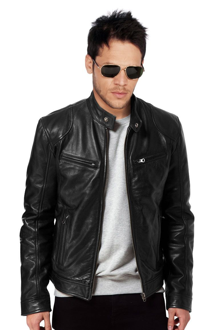 1000  images about Leather Biker Jackets For Men on Pinterest