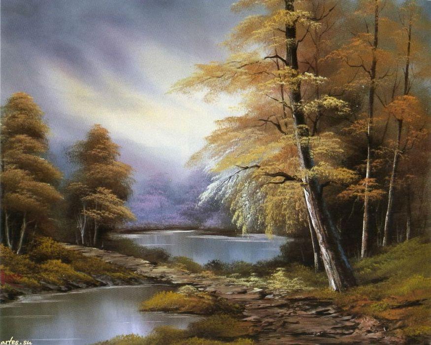 Природа от американского живописца Robert Norman Ross. Обсуждение на LiveInternet - Российский Сервис Онлайн-Дневников