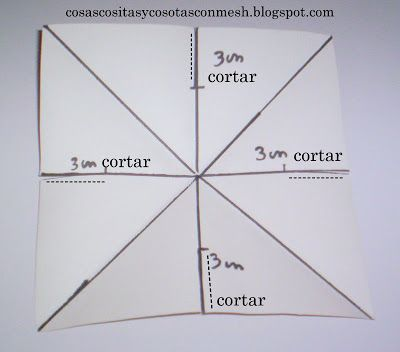 Como Hacer Una Estrella De Papel Grande Paso A Paso Cositasconmesh Estrellas De Papel Hacer Adornos De Navidad Estrellas De Origami