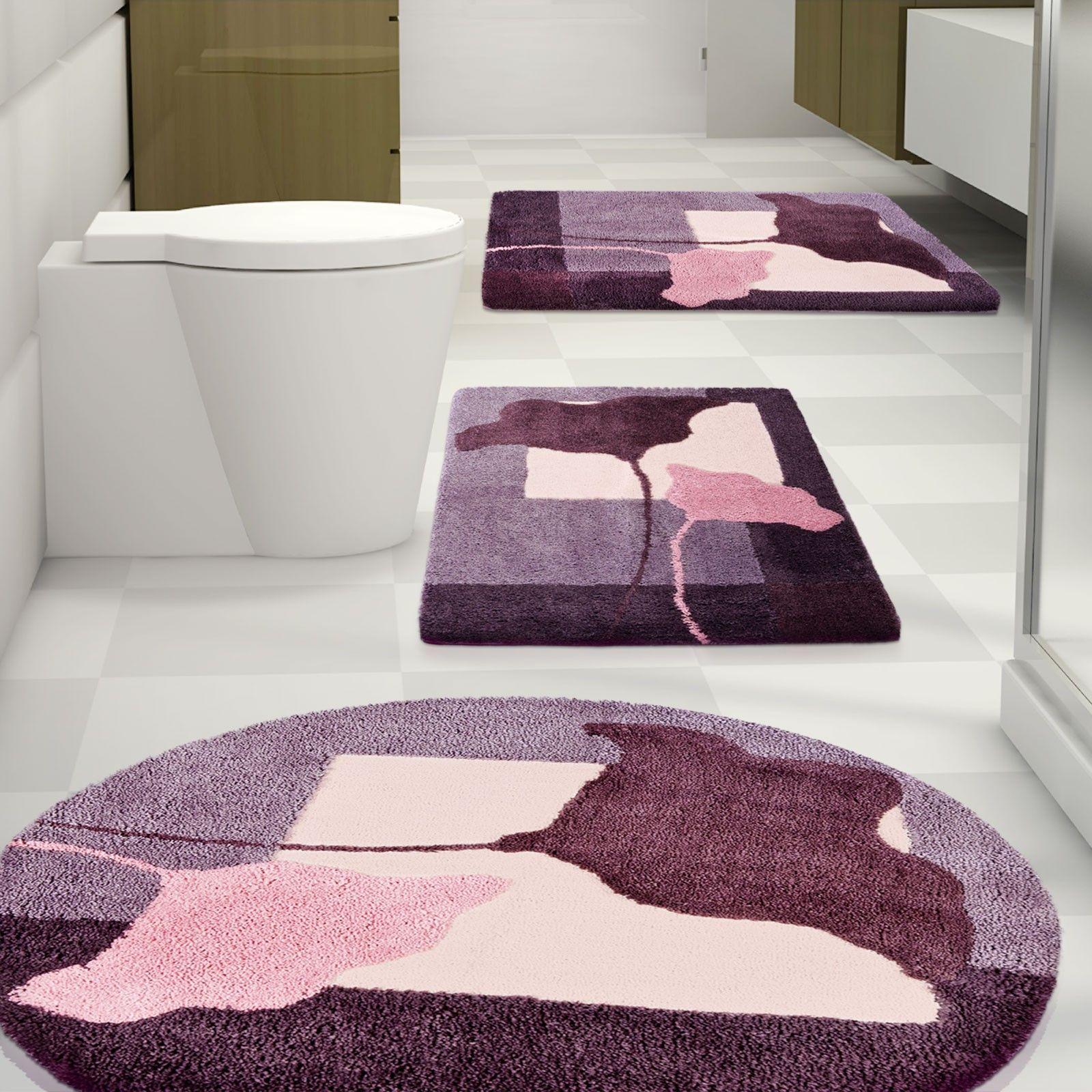 Badvorleger Clara Sky Schadstoffgepruft Teppich Design Badezimmermatte Badezimmer Accessoires