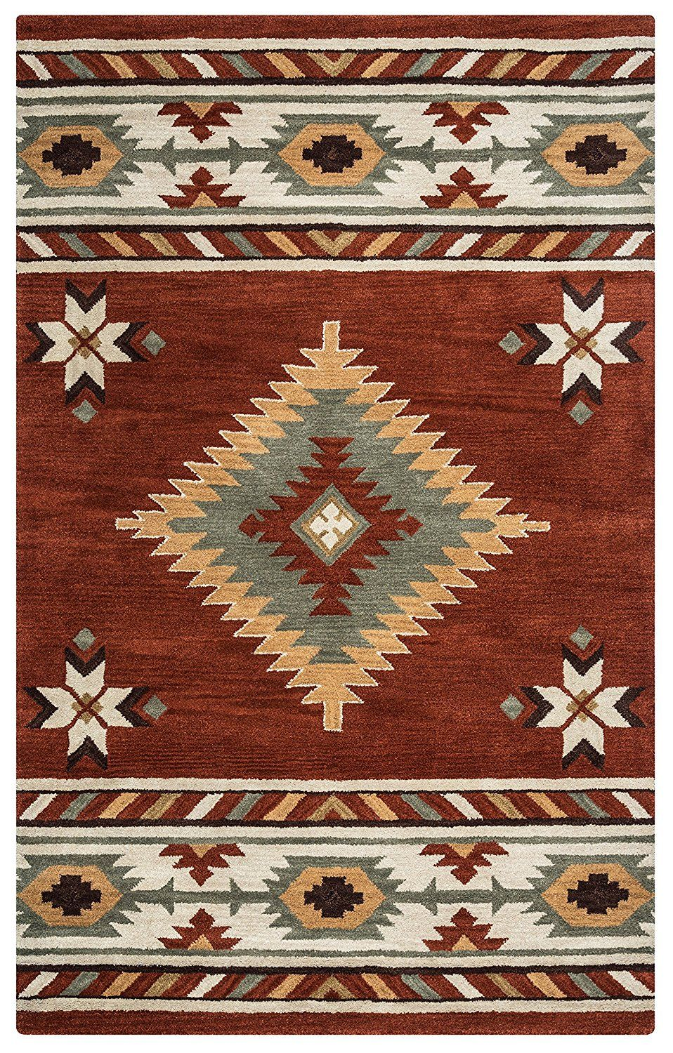 Image Result For Southwestern Rug With Images Wool Area Rugs