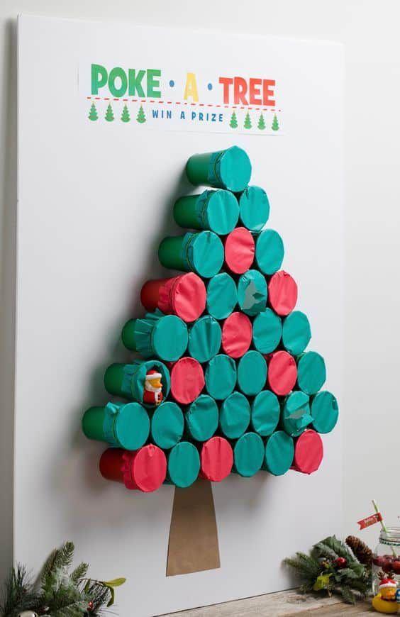 Photo of Das 'Poke-A-Tree'-Weihnachtsfeier-Spiel ist großartig und macht super Spaß! • …