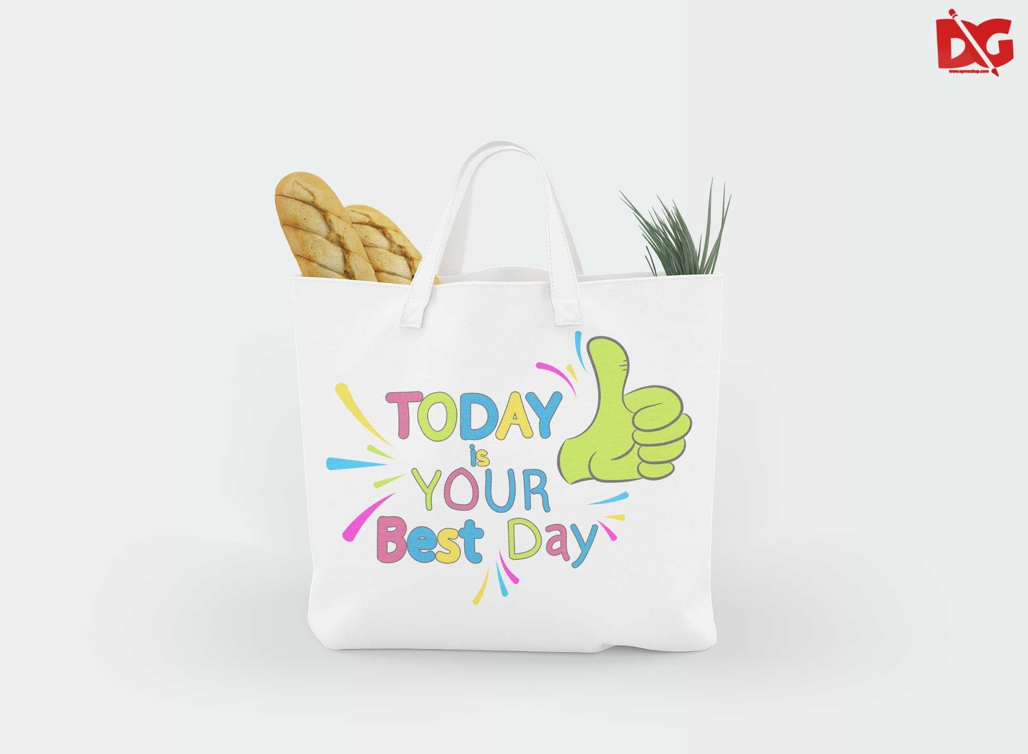 Download Free Beach Tote Bag Mockup Bag Mockup Beach Tote Bags Tote Bag