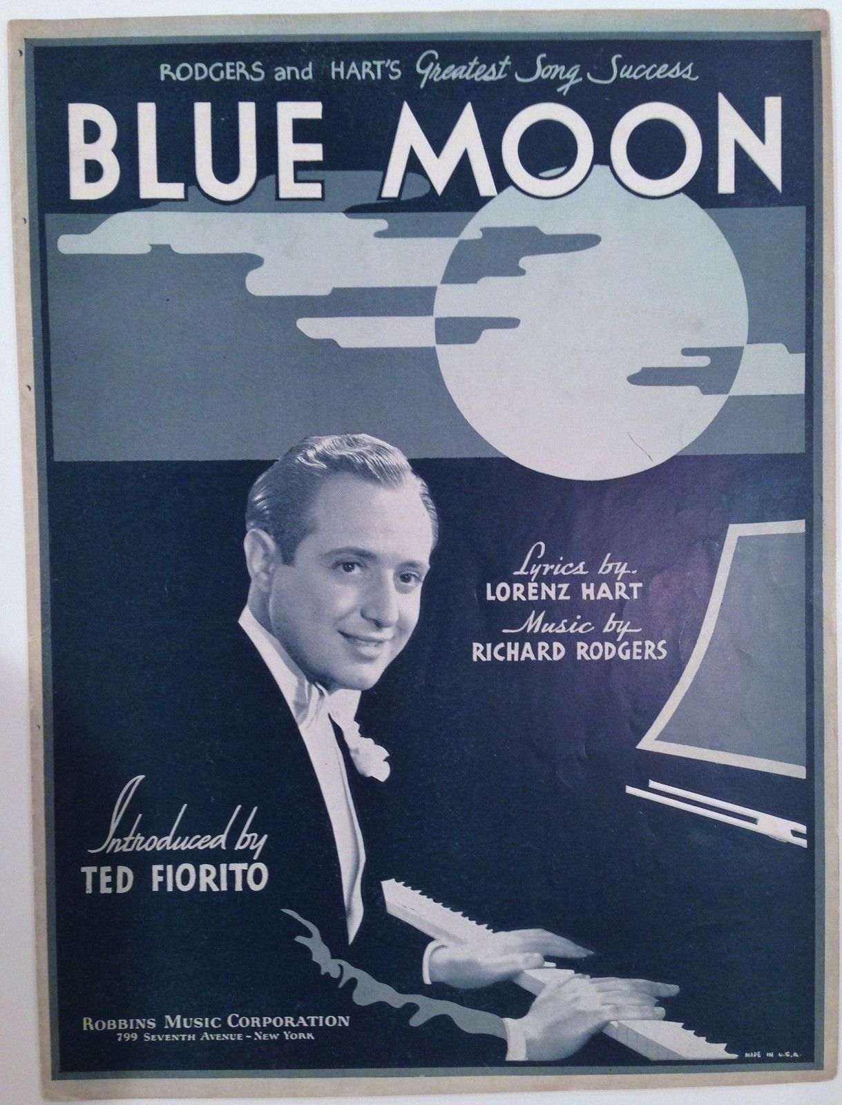 Classic from rodgers hart sheet music pinterest sheet music sheet music hexwebz Gallery