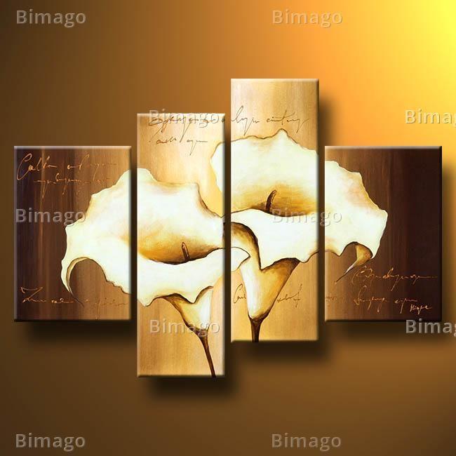 Creme Callas - Wandbilder auf Leinwand von bimago.de (bimago.com)