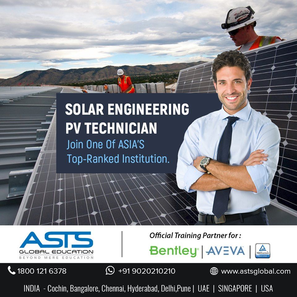 Build a career in Solar Engineering with ASTS Global