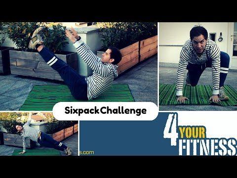 Sixpack Challenge – schnell und einfach zu Bauchmuskeln