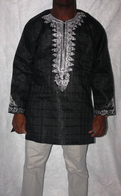 African men's shirt/top African Clothing by ChimziFashion on Etsy, $60.00