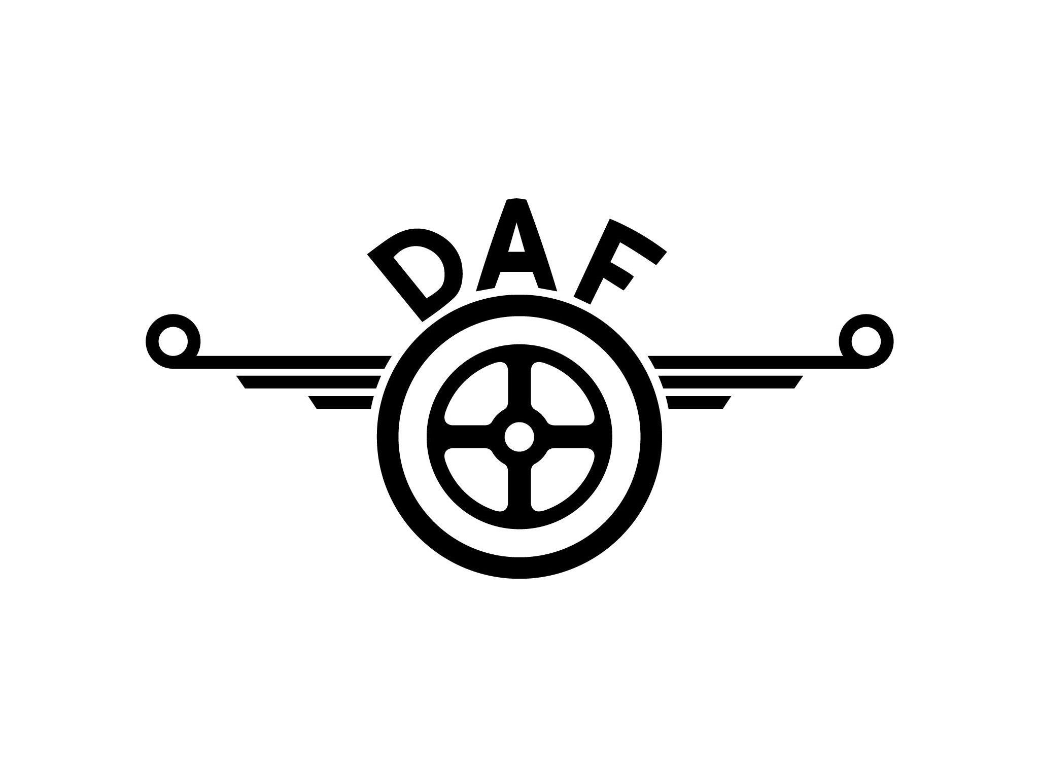 Logo Daf Vrachtwagens Automobiel Oldtimers