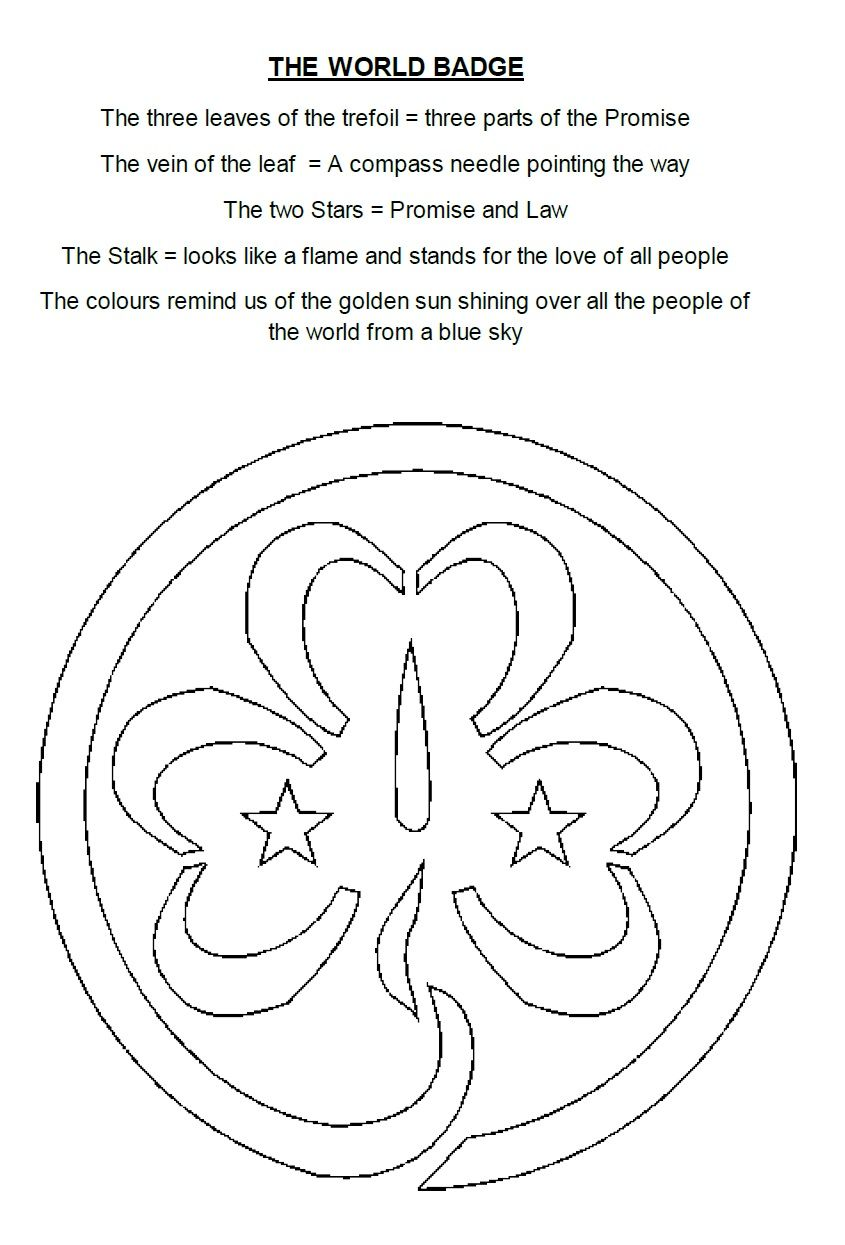 From A Document Prepared By Sam Boroff To Explain The World Badge