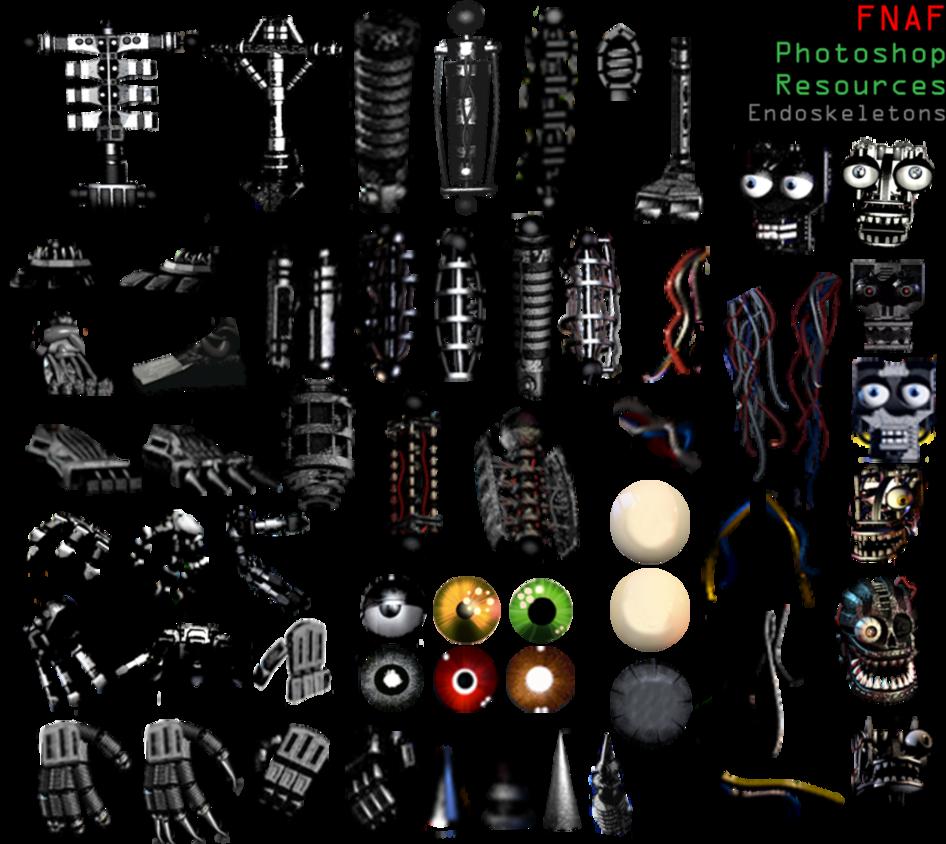Fnaf photoshop resources update 4 endoskeletons by fnaf photoshop resources update 4 endoskeletons by dangerdude991iantart on sciox Choice Image