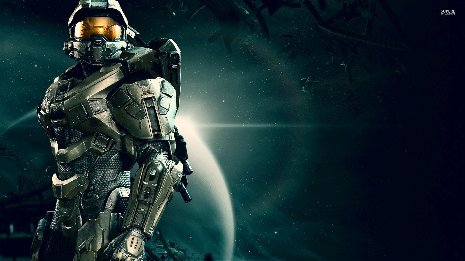 Master Chief Wallpaper 1920x1080 52541 Wallpaper In 2019