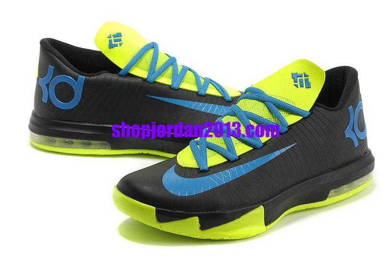 Nike #Zoom KD 6(VI) Shoes Black/Blue