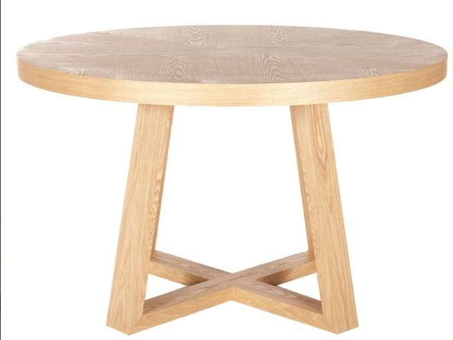 Appealing Round wooden dining table sydney