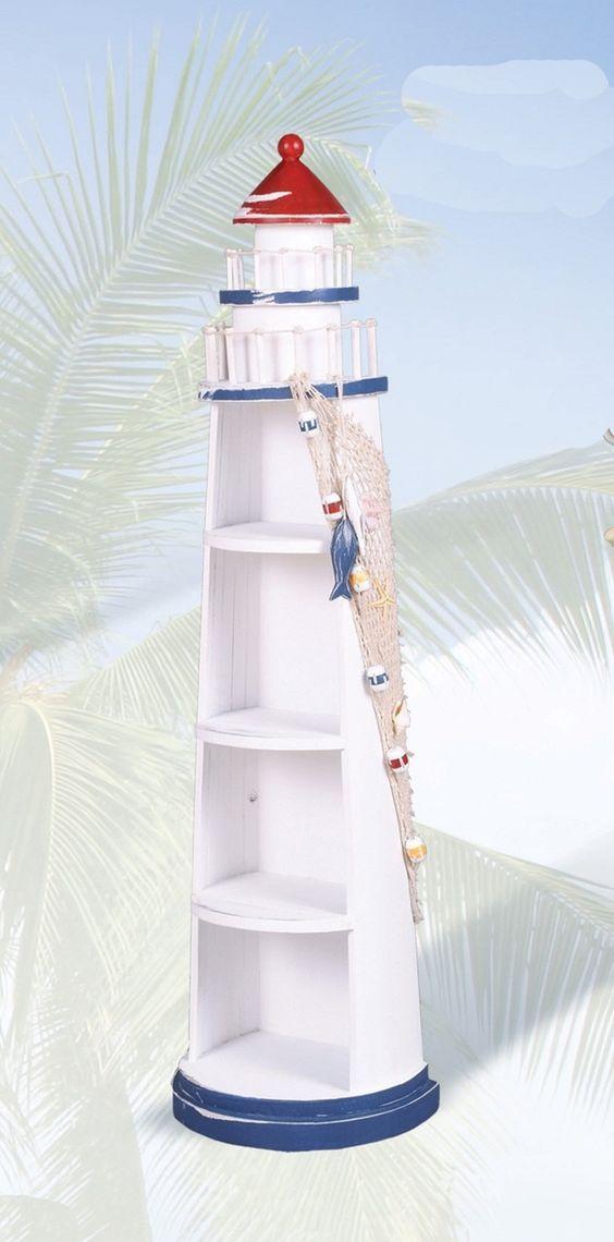 Faro Modern Bedroom Set: Wooden Lighthouse Shelves In 2019