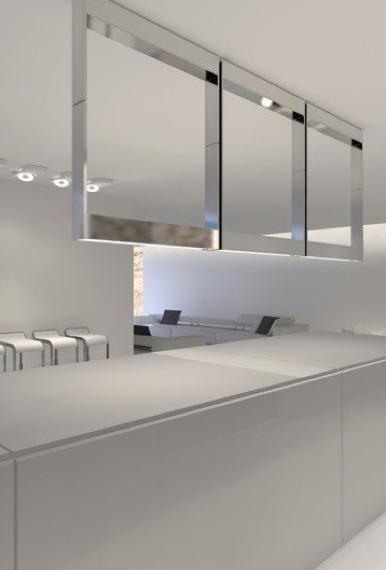 Clean lines, kitchen interior design by Filip Deslee _ | Living in ...