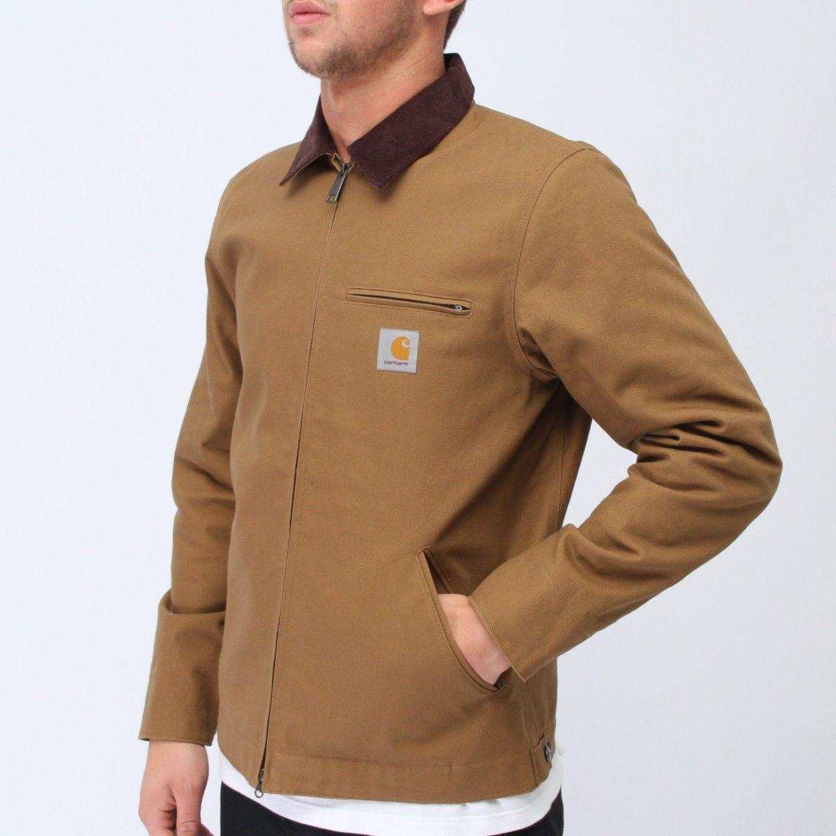 0f44156e801 Carhartt Detroit Jacket Hamilton Brown | Streetwear Wants | S'habiller