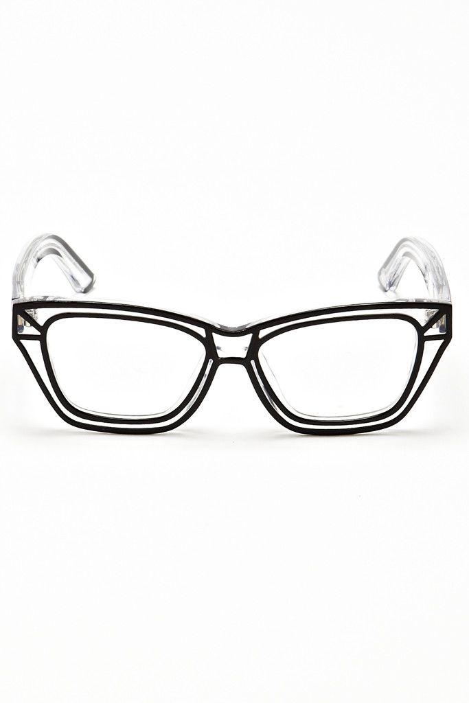 Weird Glasses Transparent 6