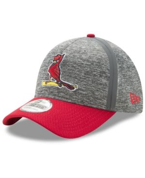 366c22074f02d3 New Era St. Louis Cardinals Clubhouse 39THIRTY Cap - Red S/M ...