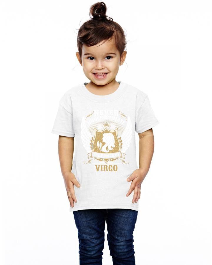 Never Underestimate The Power Of Virgo Toddler T-shirt