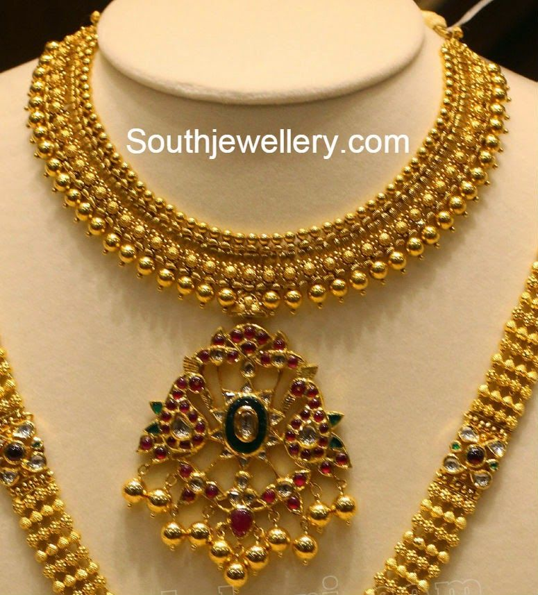 Bridal Gold Jewellery Designs With Indian Price - coinchains.info
