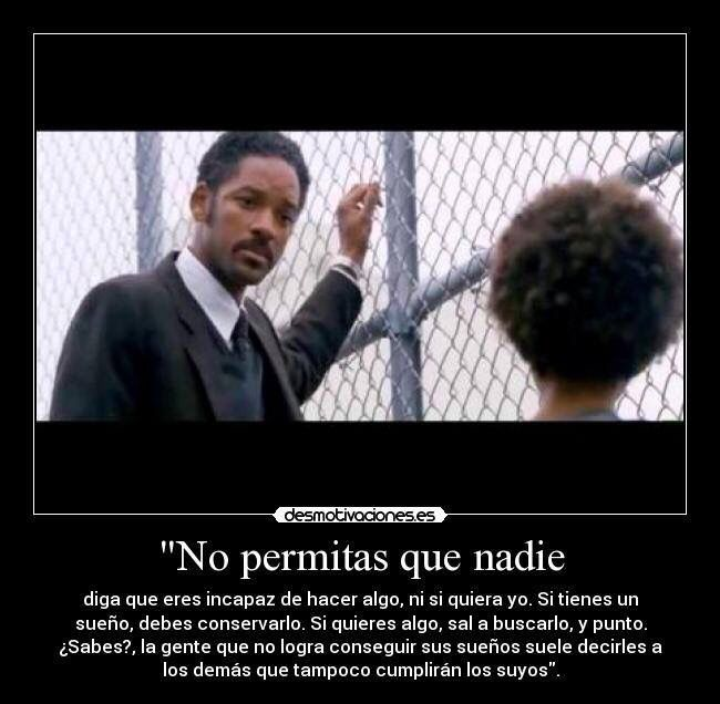 No permitas