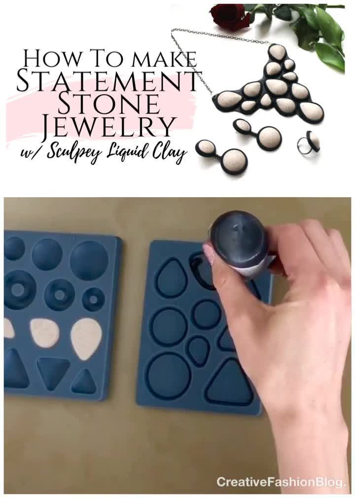 Simple DIY Jewelry Making Ideas With Polymer Clay  #clay #DIY #Diyclothesvideos #Ideas #Jewe