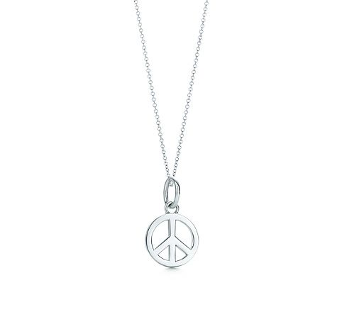 c3371f6d6 Tiffany & Co. | Item | Peace Sign charm in sterling silver. | United Kingdom