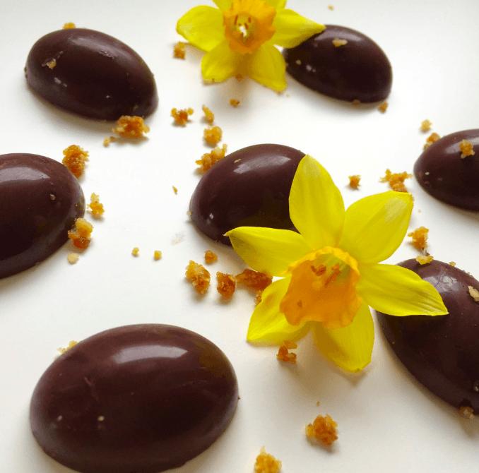 Chokolader saltet chokoladekaramel
