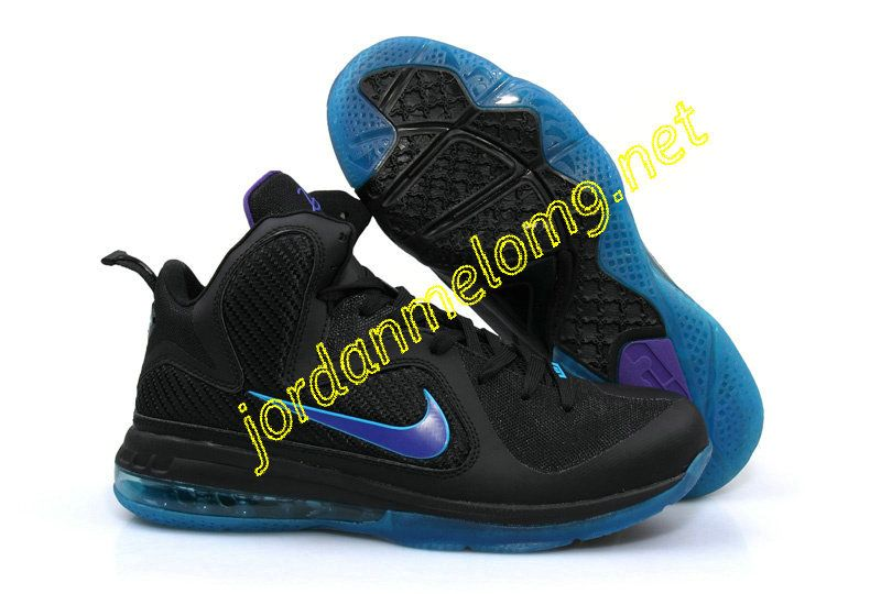 cheap for discount 9fb43 53b92 Nike Zoom Lebron IX Sample Black Purple Royal Moon 459764 002
