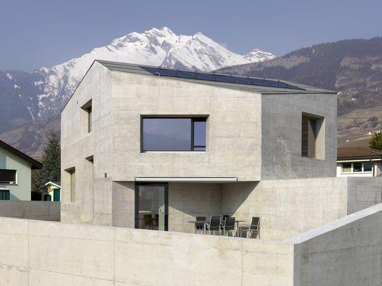 Maison Fabrizzi, Conthey, 2014 - Savioz Fabrizzi Architecte