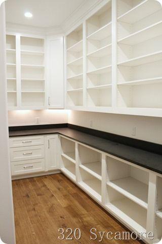 storage in pantry