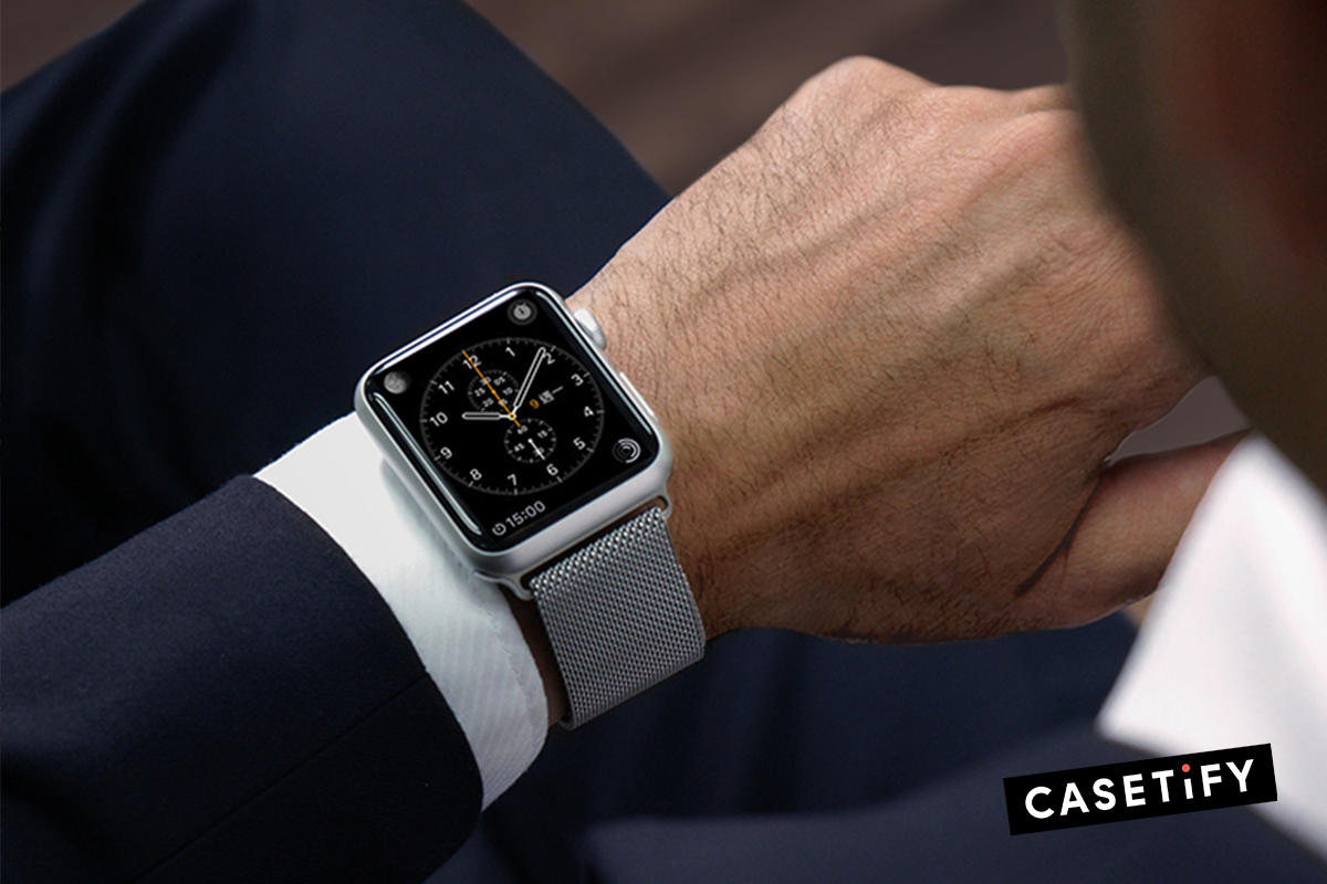 Casetify Stainless Steel Mesh Apple Watch Bands | The Apple