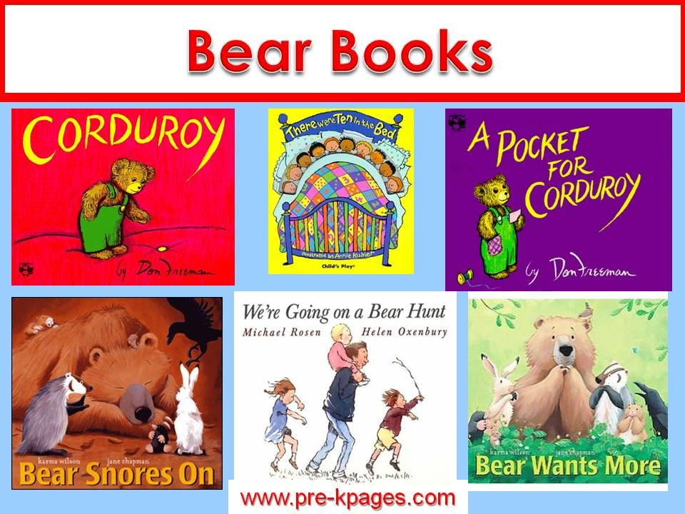 Bears Theme Preschool Lesson Plans And Activities Bear Theme For