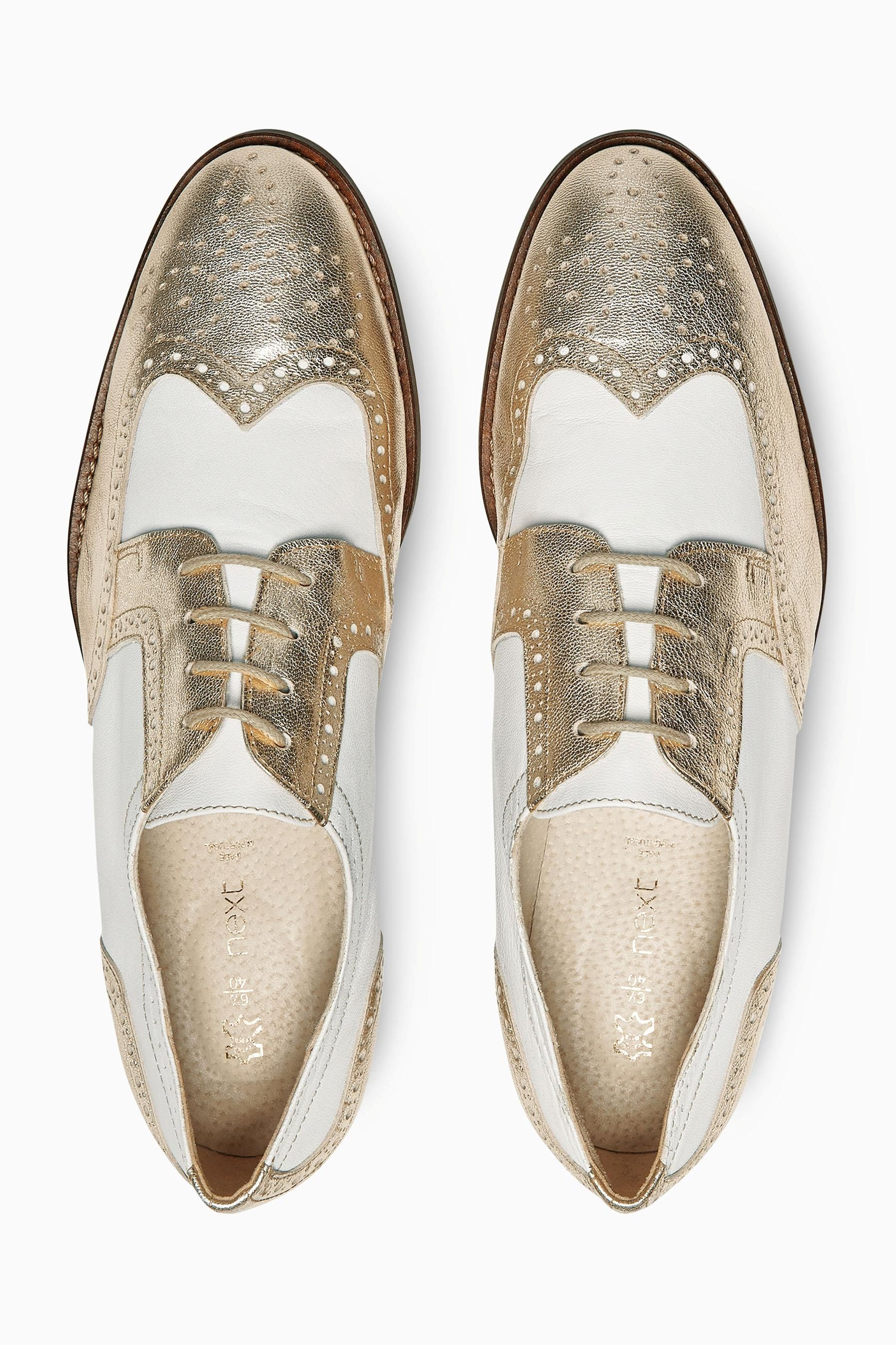 Buy Premium Leather Lace-Up Brogues from the Next UK online shop