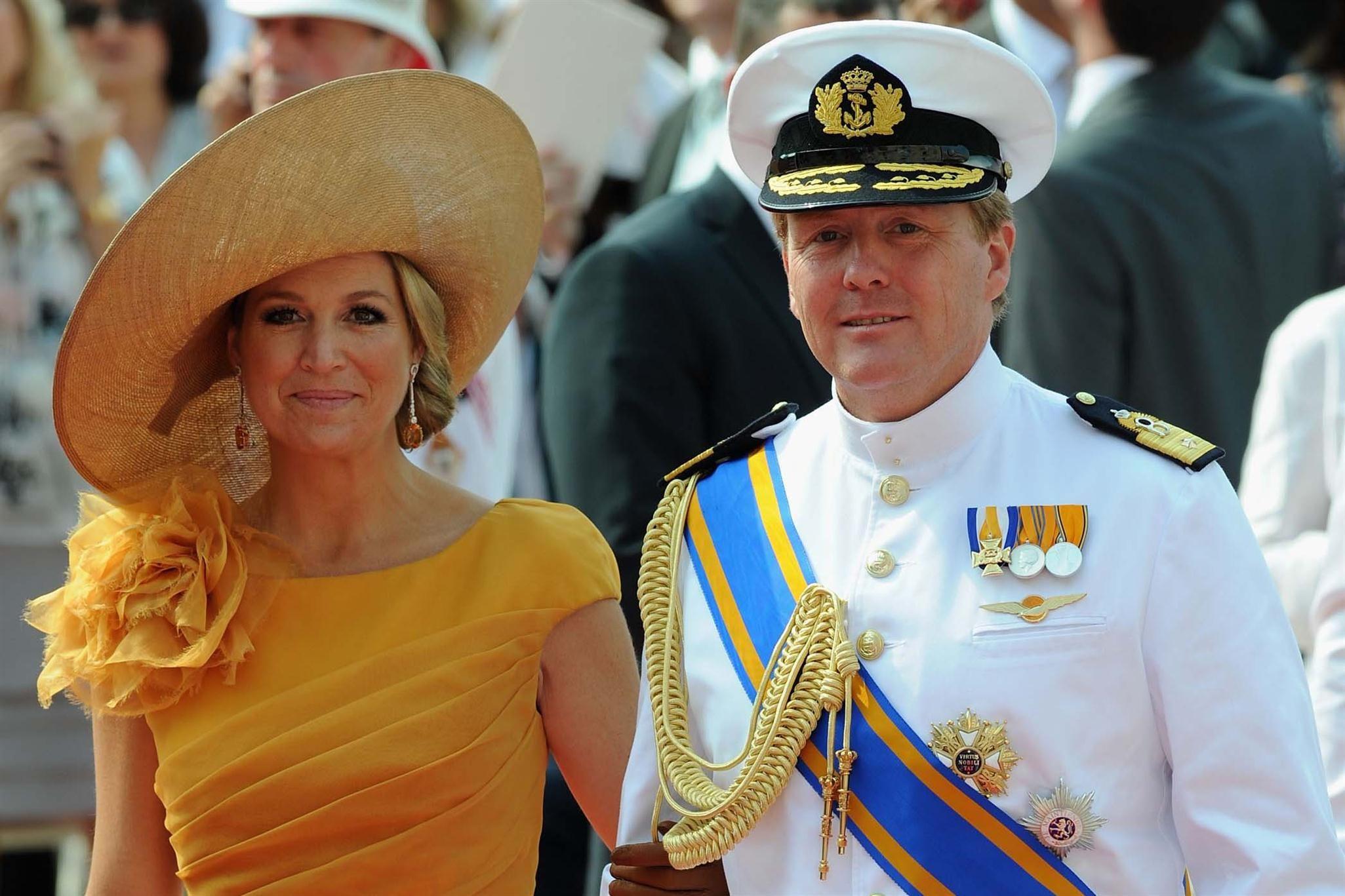 La reina Máxima de Holanda inaugura un canal con su nombre