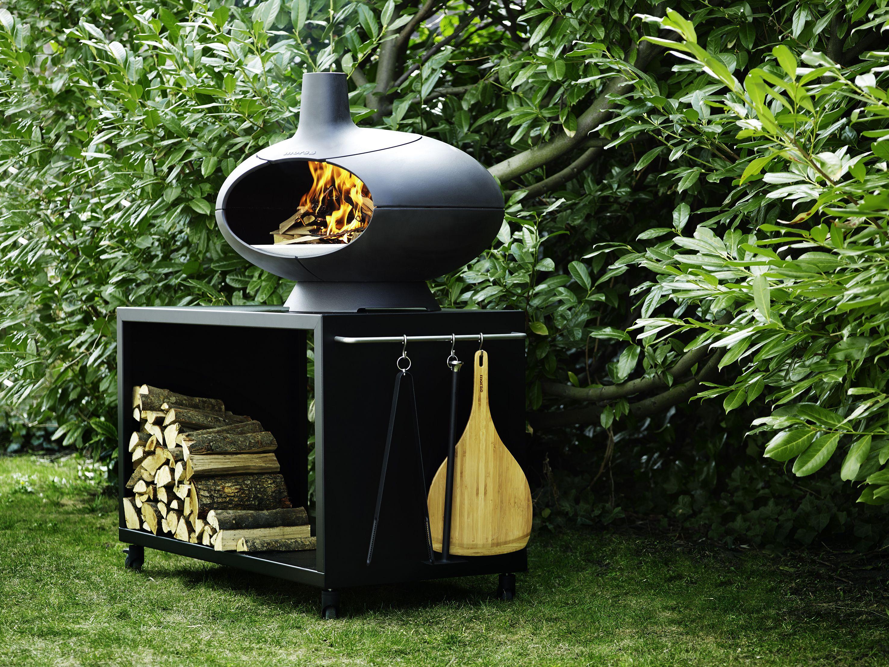 93. Four à pizza / braséro pour l'extérieur, Ø70xH60 cm, x euros - #BarbecueAndCo - http://www.barbecue-co.com