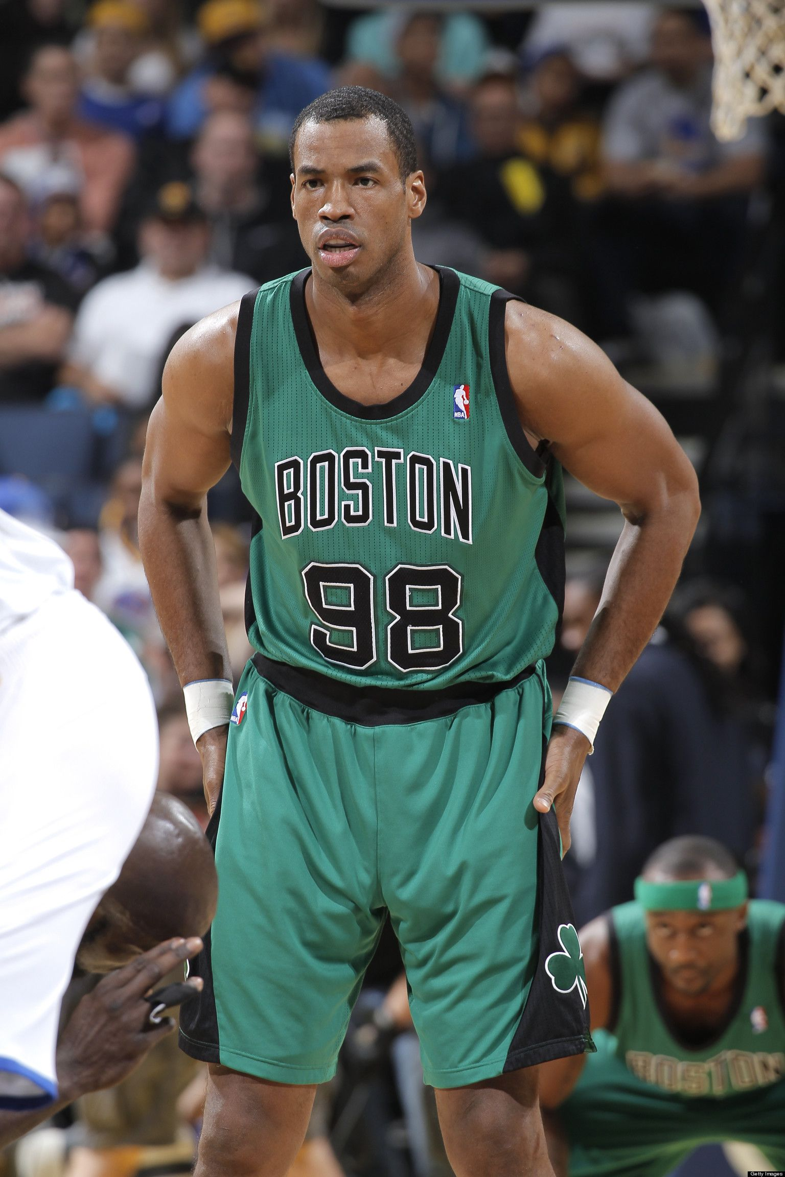3ceadf225be Jason Collins' Matthew Shepard Tribute: Gay NBA Star Honors Slain Student  With No. 98