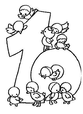 10 Coloring Pages Of Numbers On Kids N Fun Co Uk Coloring Pages