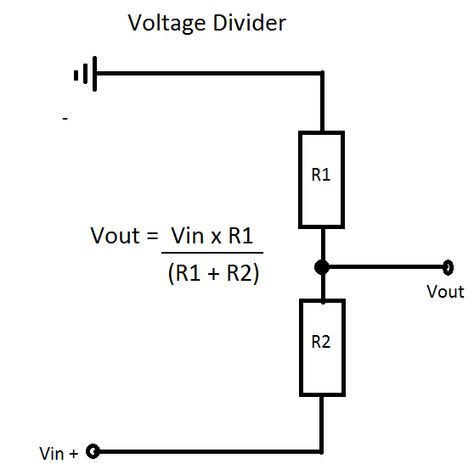 Voltage Divider Voltage Divider Electronics Circuit Electronic Engineering