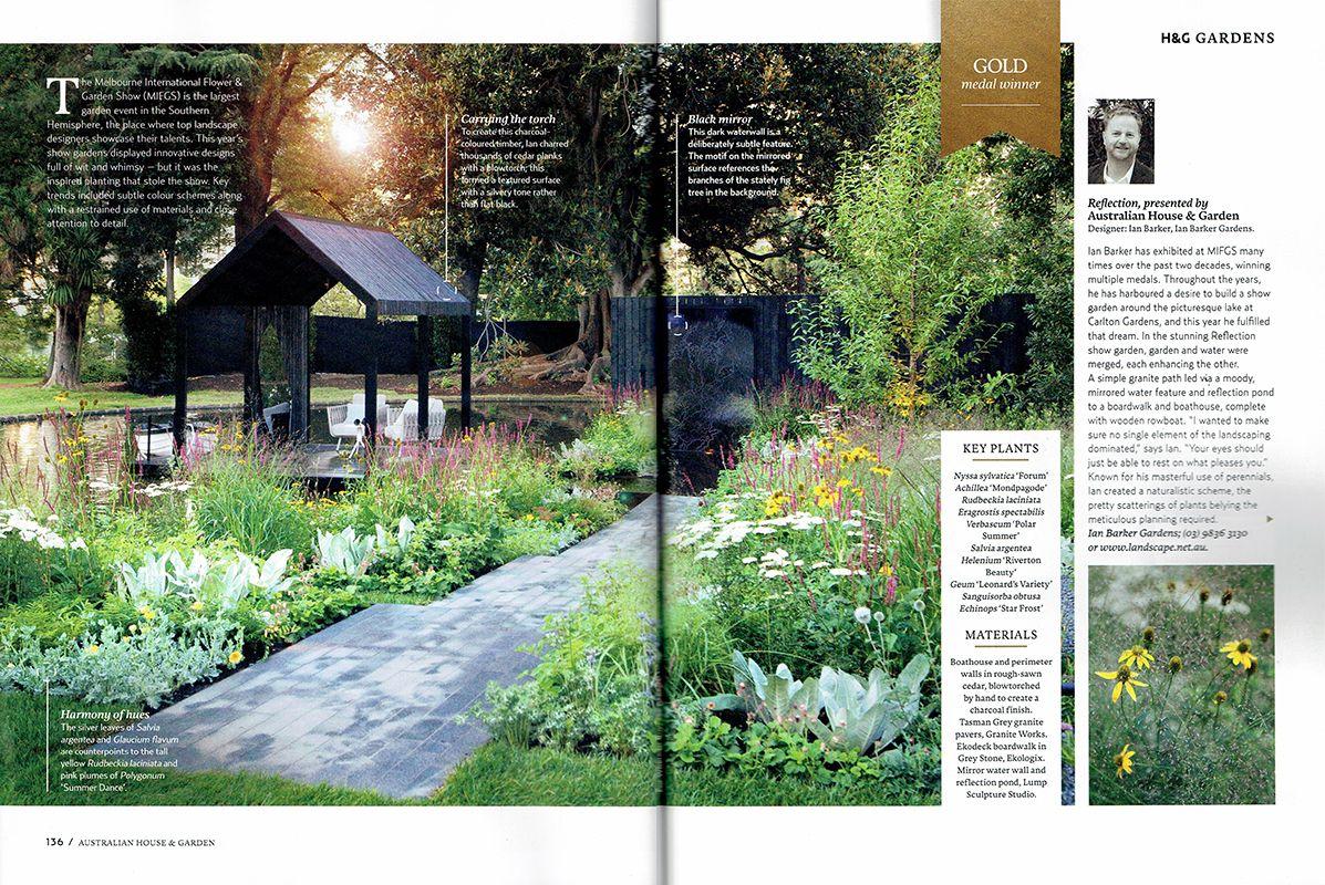 Australian House Garden Magazine June 2016 Feature Landscape Design Melbourne Garden Landscape Design Landscape Design