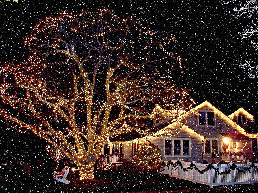 Snowfall Christmas Lights - Bing Images | Its Beginning To Look a ...