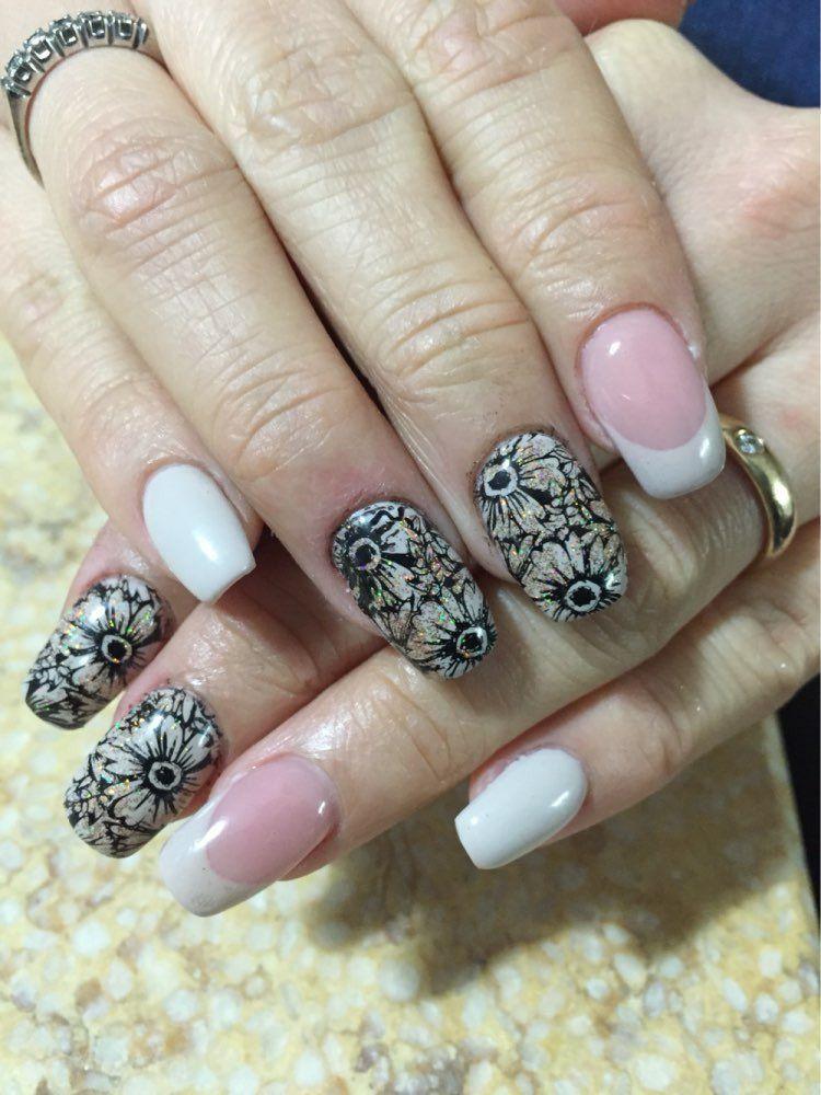 Beautiful nails, Birthday nails, Fashion nails 2016, Festive nails ...