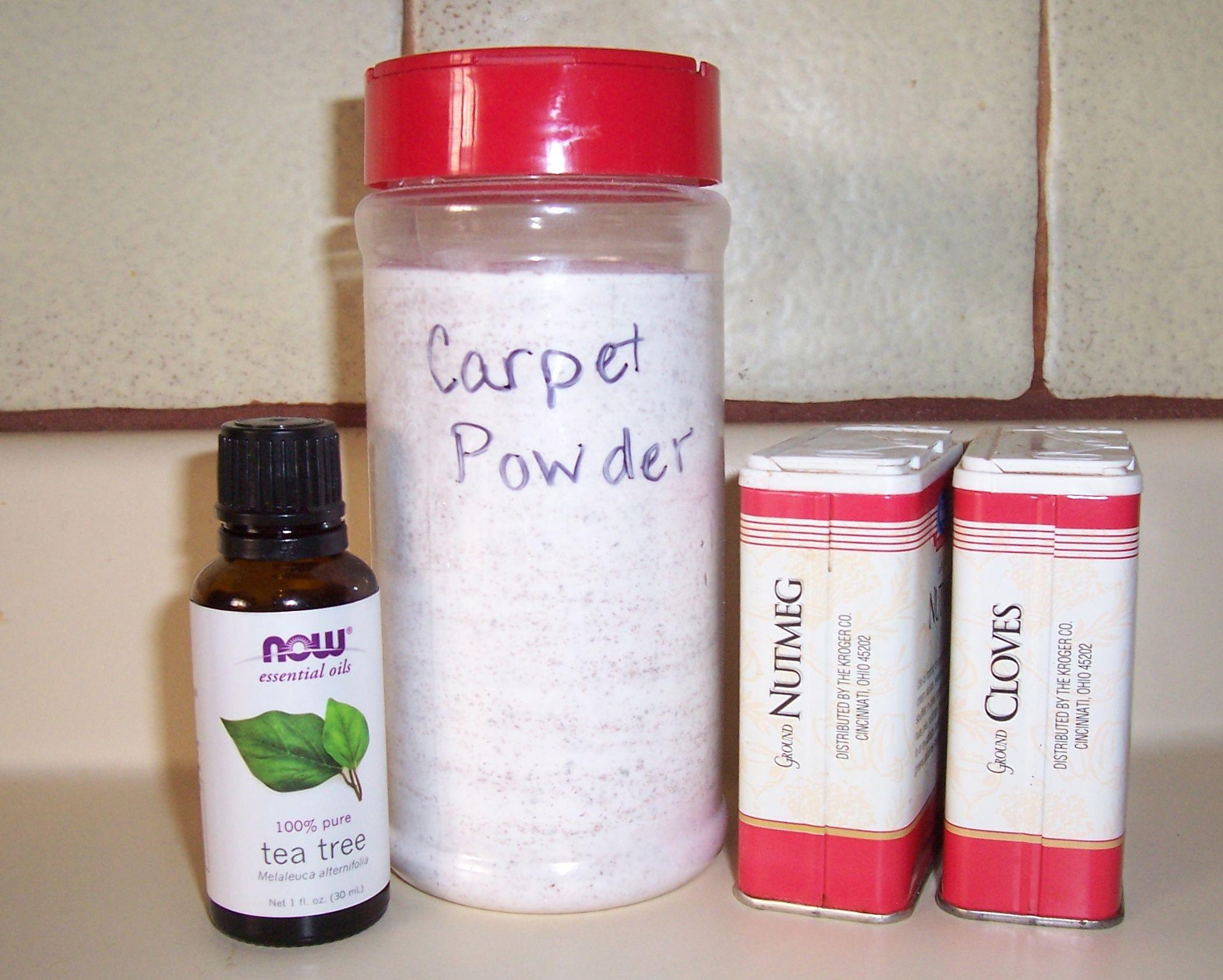 Homemade Carpet Freshening Powder Carpet freshener