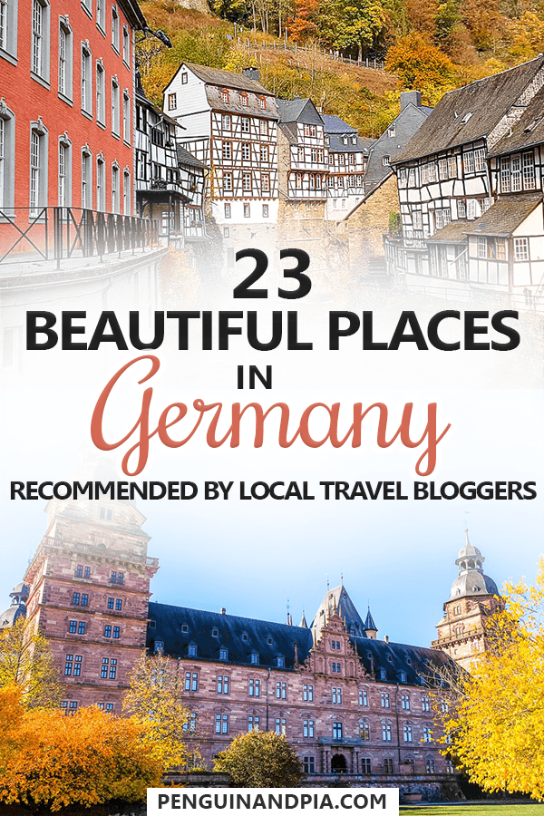 23 Beautiful Places in Germany Recommended By Travel Bloggers #beautifulplaces