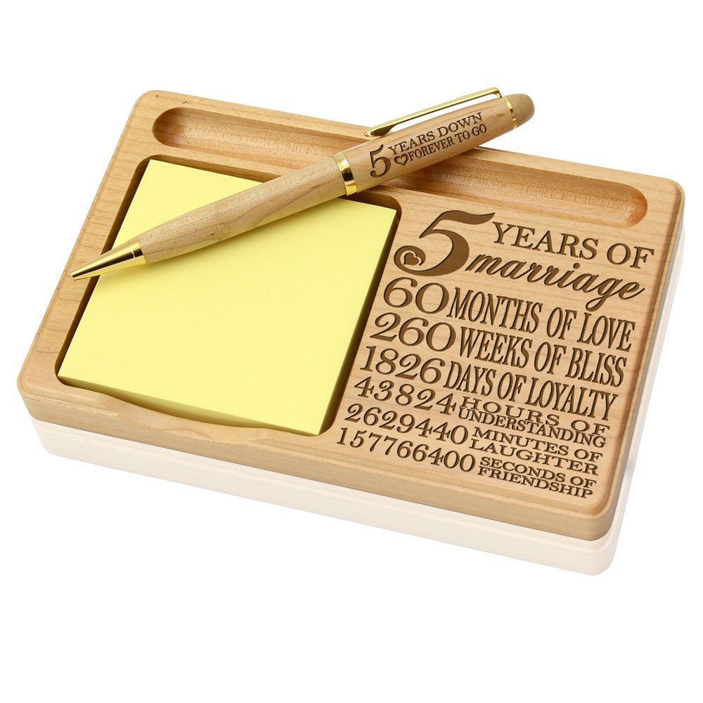 5th Anniversary Gifts for Her Under 60 Wood anniversary
