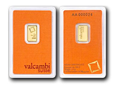 Valcambi 2 5 Gram Gold Bar Gold Bullion Bars Gold Bullion Gold Stock