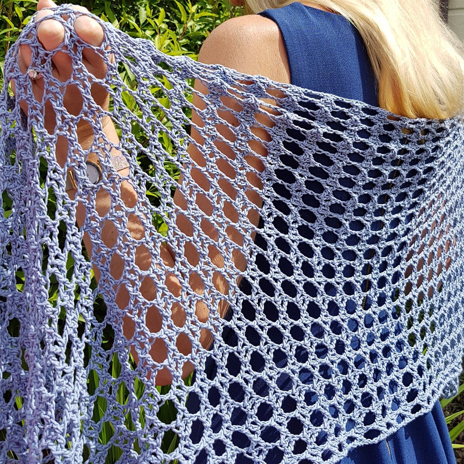 How the Light Gets In - free rectangular crochet shawl pattern at ...