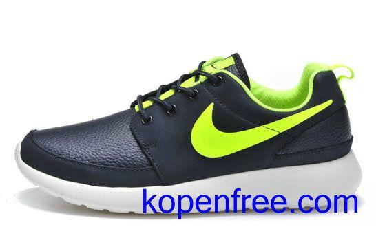 cheap for discount 1104b 1096f Kopen goedkope heren Nike Roshe Run Schoenen (kleurvamp-zwart,binnenkant,